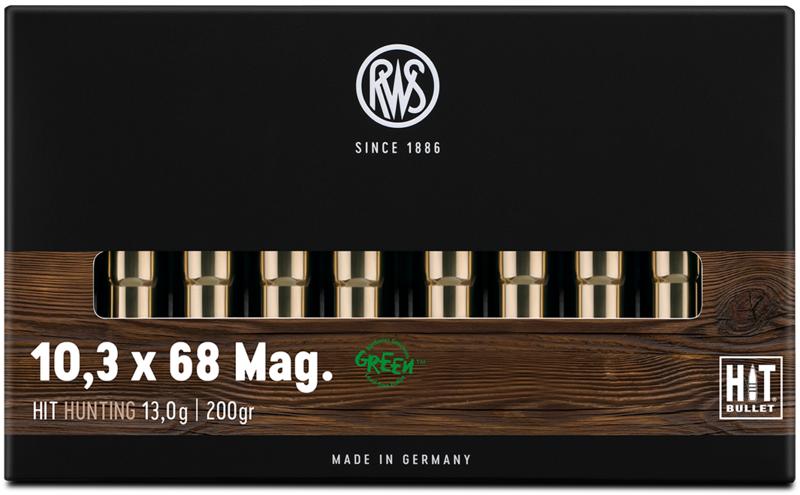 RWS 10,3x68Mag HIT 13g