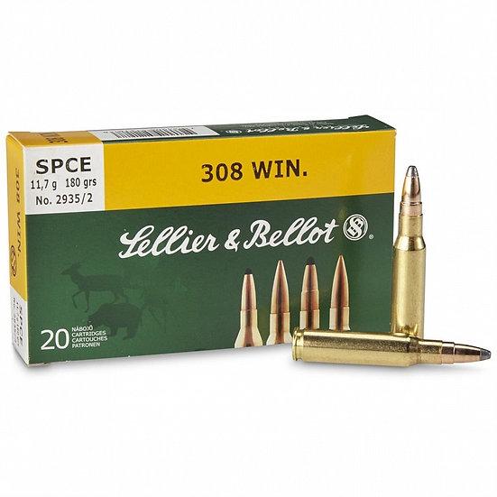 Sellier&Bellot 308 Win. SPCE golyós lőszer