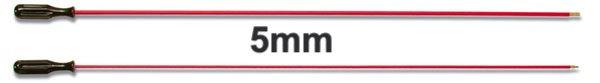Tisztítópálca, fém, 5 mm Golyós fegyverhez
