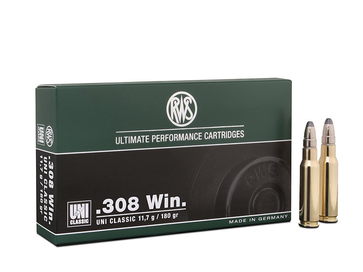 RWS 308Win UNI Classic 11,7g 180gr