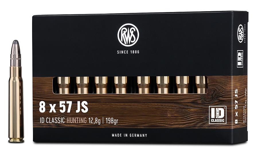 RWS 8x57JS ID Classic 12.8g, 198gr
