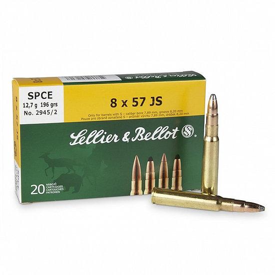 Sellier&Bellot 8x57 JS golyós lőszer SPCE