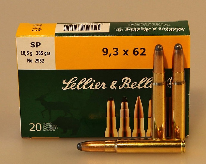 Sellier&Bellot 9,3x62 SP