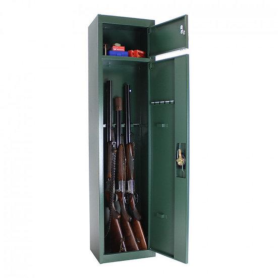 Osztrák Fegyverszekrény 5 db fegyver tárolására alkalmas, külön a lőszer