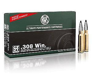 RWS 308Win Speed Tip Pro 10,7g 165gr