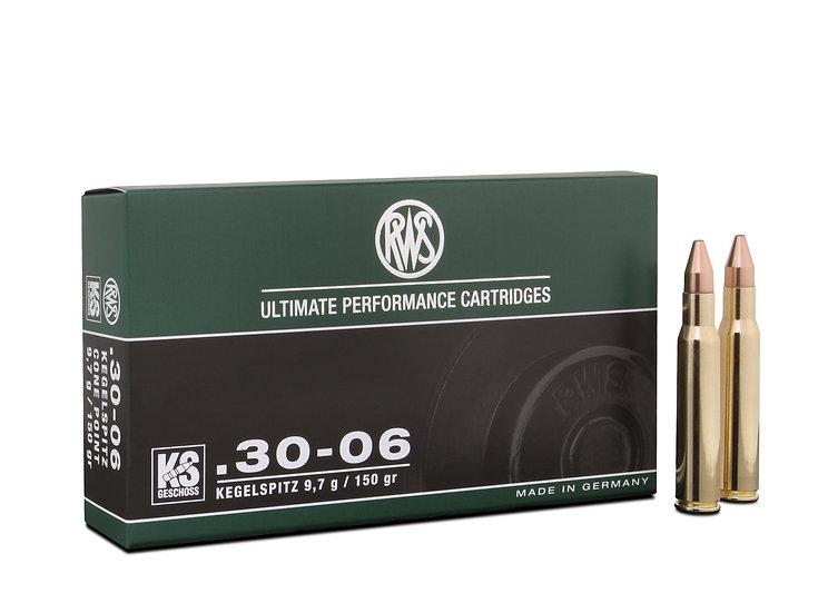 RWS 30-06 KS 10,7g 165gr