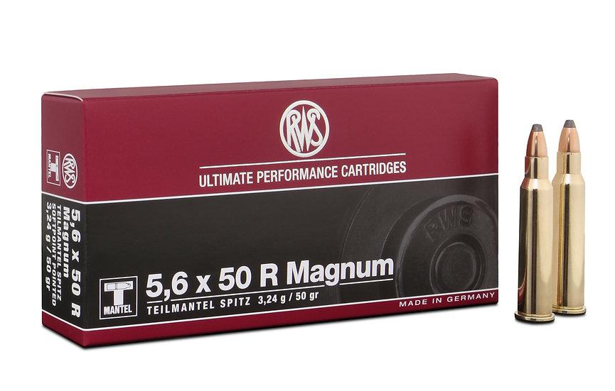 RWS 5,6x50R Mag TMS 3,24g 50gr