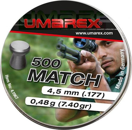 Umarex Match 4,5mm lapos léglövedék
