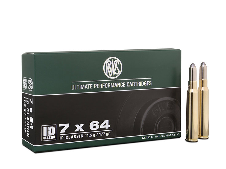 RWS 7x64 ID Classic 11,5g 177gr