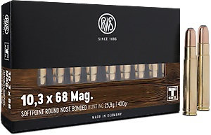 RWS 10,3x68Mag SoftPoint 25,9g