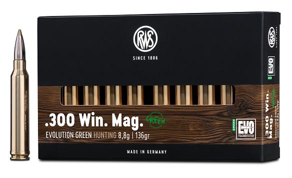 RWS 300 WM EVO Green 8,8g 135gr