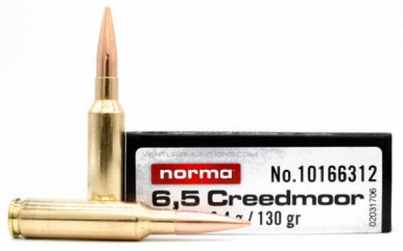 Norma 6,5 Creedmoor HPBT 8,4g/130gr golyós lőszer