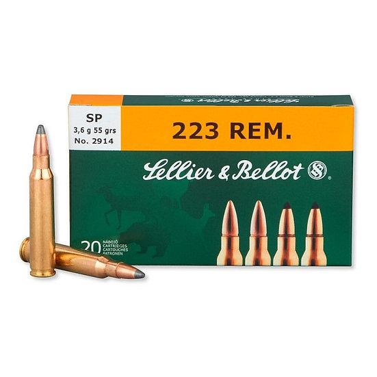 Sellier&Bellot 223 Rem. golyós lőszer