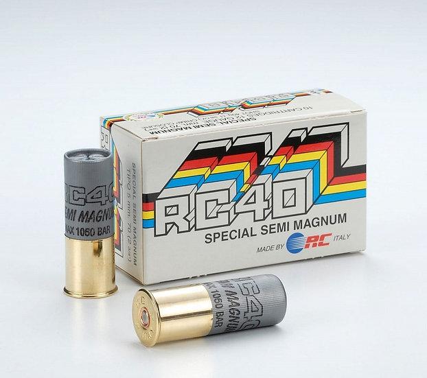 RC40 12/70-0 Mini Mag. (3,9mm) 40g sörétes lőszer
