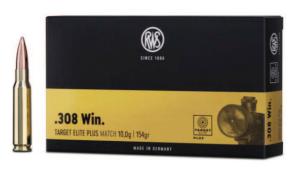 RWS 308Win Target Elite Plus 10,9g 168gr