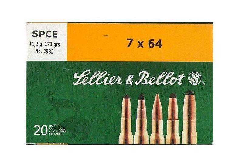 Sellier&Bellot 7x64 golyós lőszer SPCE