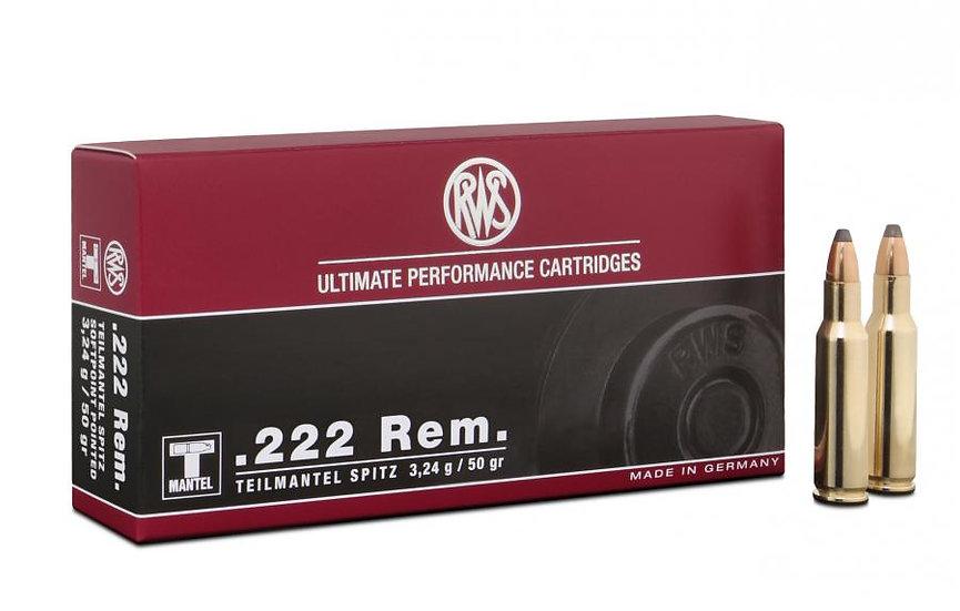 RWS .222Rem TML 3,24g