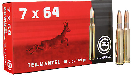 7x64 TM, 10,7g 165gr