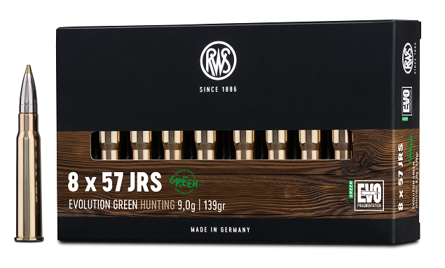 RWS 8x57JRS EVO green 9,0g 139gr