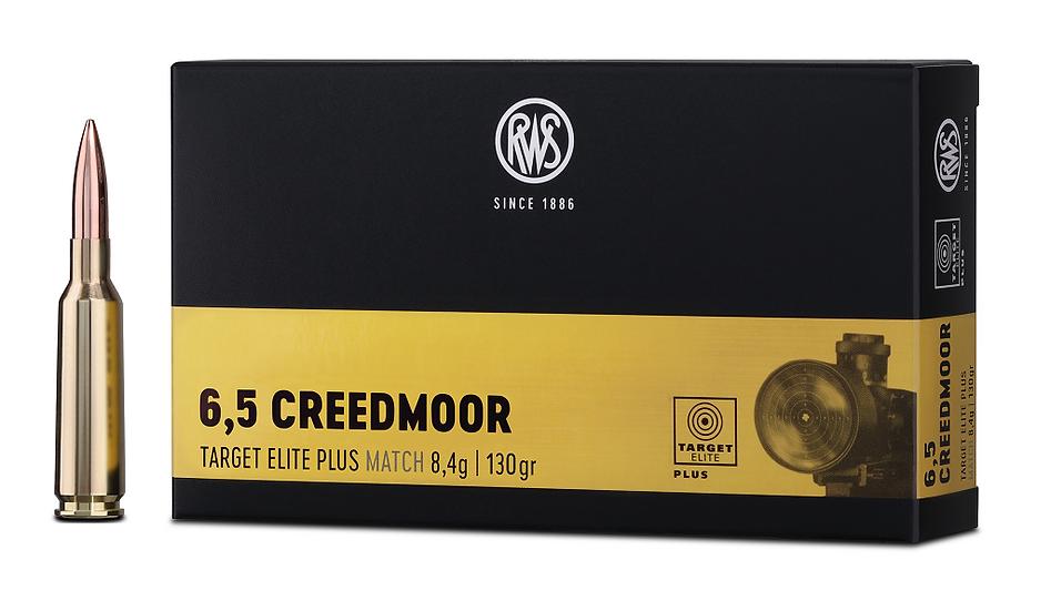 RWS 6,5 Creedmoor Target Elite Plus 8,4g 130gr