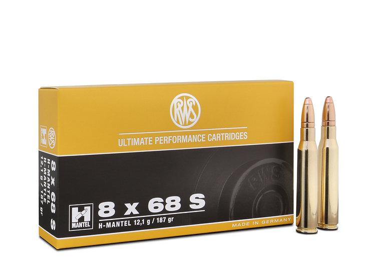 RWS 8x68S HMK 12,1g 187gr