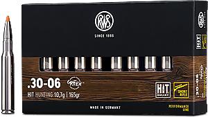 RWS 30-06 HIT Short Barrel 10,7g 165gr