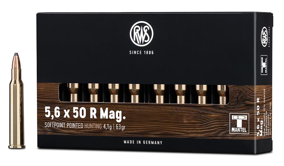 RWS 5,6x50R Mag TMS 4,1g 63gr