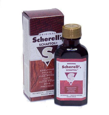 Scherell's Vörös Brown tusolaj 50ml