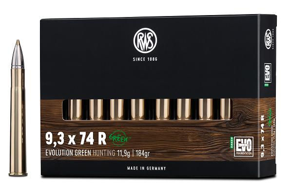 RWS 9,3x74R EVO Green 11,9g 183gr