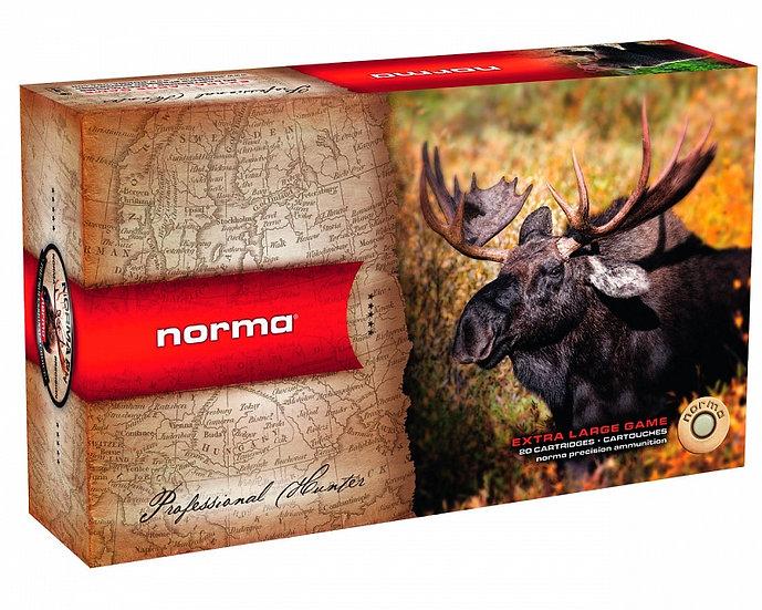 9,3x62 Norma Vulkan 15g/232gr golyós lőszer
