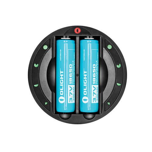 Olight Omni-Dok intelligens két öblös akkumulátor töltő