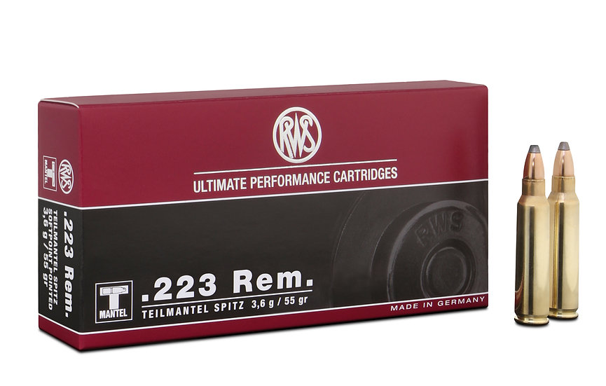 RWS 223Rem TMS 3,6g 55gr