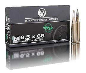 RWS 6,5x68 EVO green 6,0g 93gr