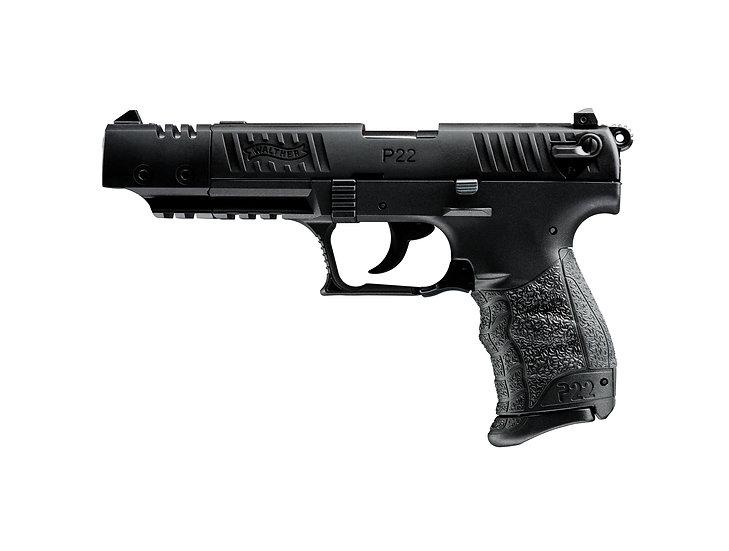"""Walther P22Q Target 5"""" .22LR"""