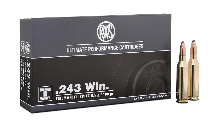 RWS 243Win TMS 6,5g 100gr
