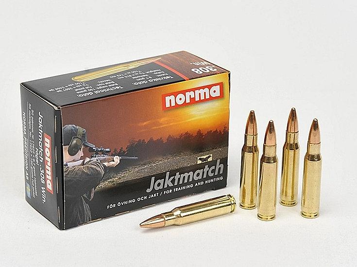 Norma Jaktmatch .308 9,7g/150 gr golyós lőszer