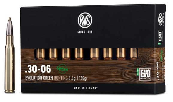 RWS 30-06 EVO Green 8,8g 135gr