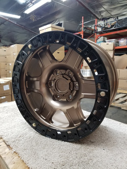 G400 Bronze 17in 6lug Beadlock SLD