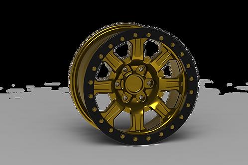 """G500 Beadlock Wheel 17x9"""" 5&6 Lug RACE"""