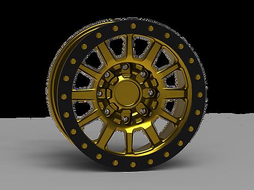"G600 Simulated Beadlock Wheel 18x9.0"" 8 Lug"