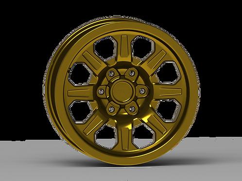 "G500 17x8.5"" Smooth Lip NonBeadlock Wheel"
