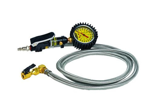 POWERTANK LONG HAUL SAFETY SERIES - 0-160 PSI LIQUID ANALOG TIRE INFLATOR
