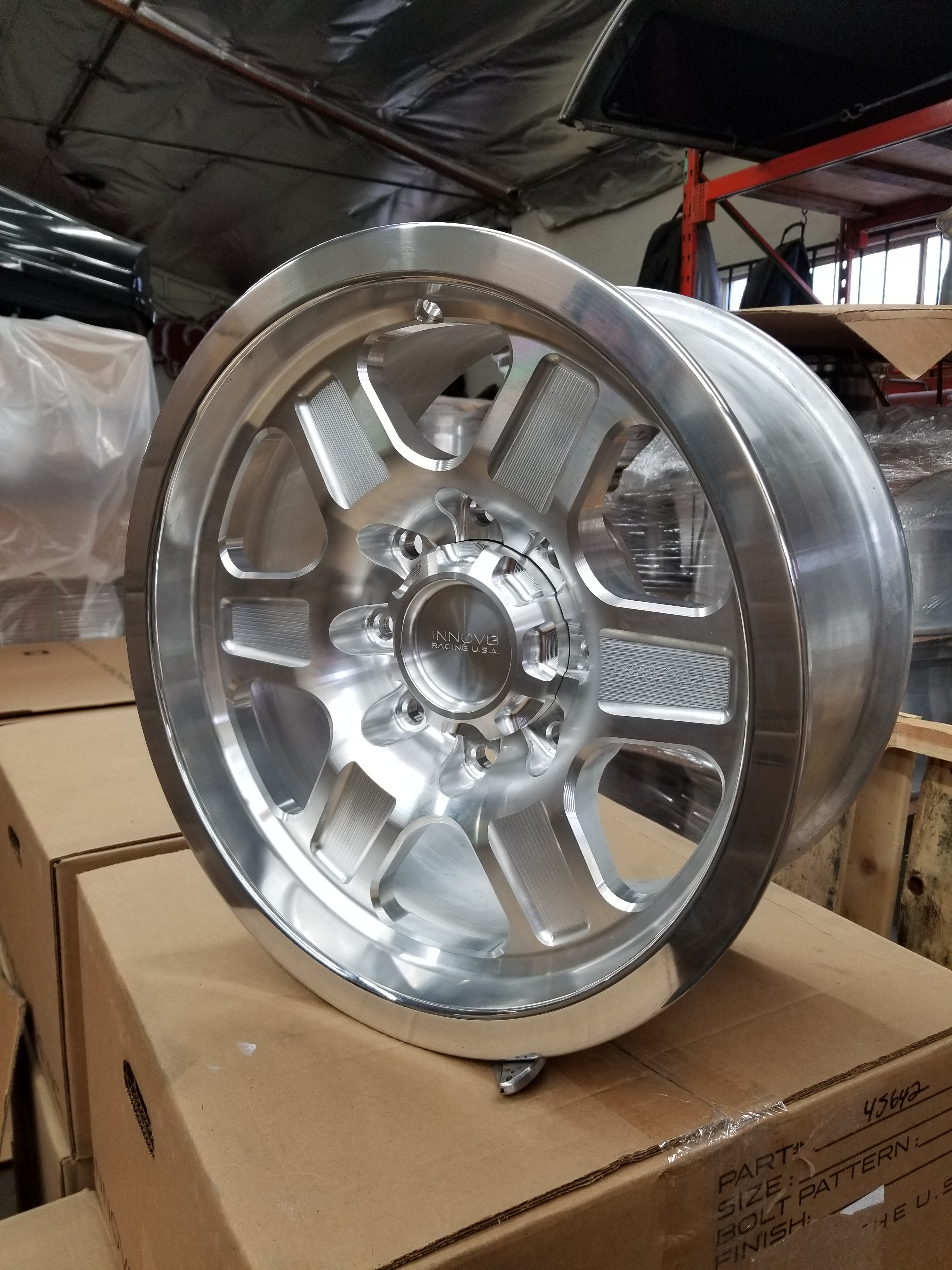 G400 Raw 17in NonBL 8lug