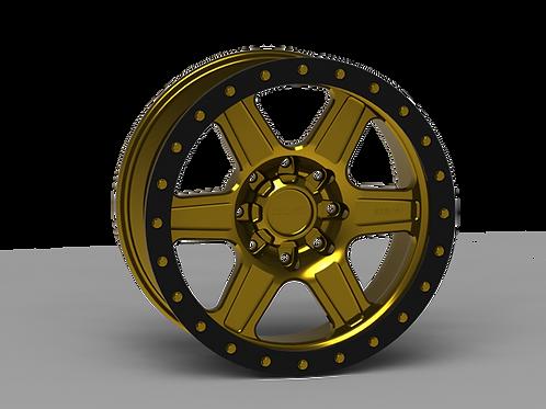 "G400 Simulated Beadlock Wheel 20x9.0"" 8 Lug"