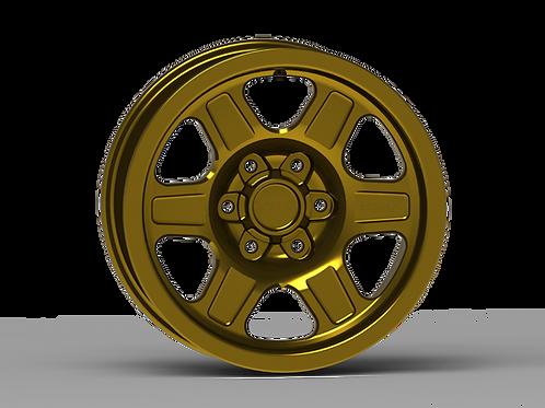 "G400 Smooth Lip NonBeadlock Wheel 17x8.5"""