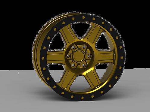 "G400 Simulated Beadlock Wheel 20x9.0"" 5&6 Lug"