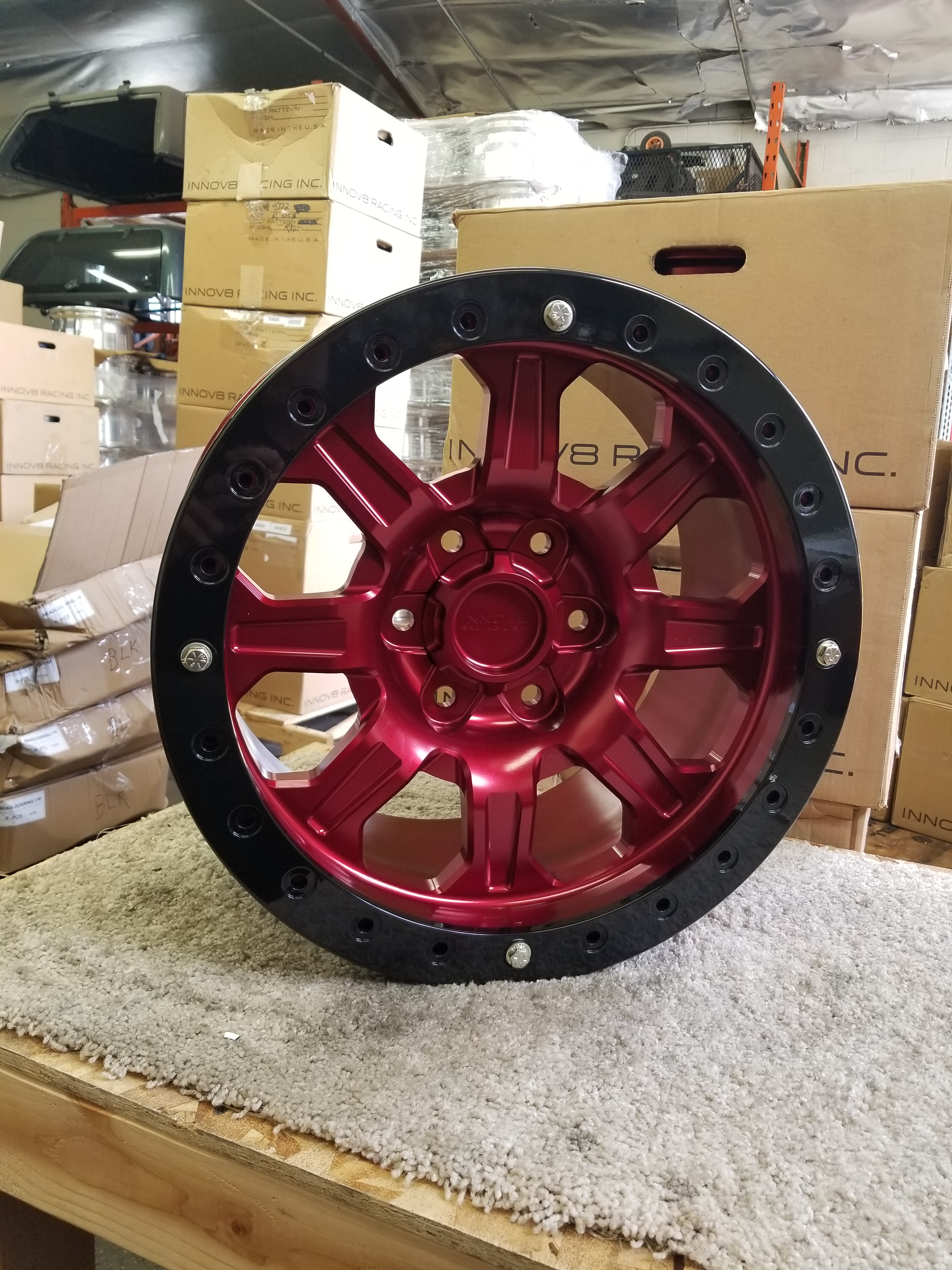 G500 Red 17in BL 6lug STD