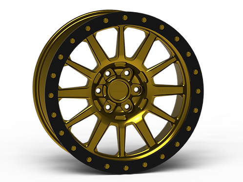 "G600 Simulated Beadlock Wheel 20x9.0"" 5&6 Lug"