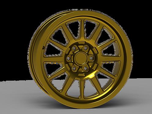 "G600 Smooth Lip NonBeadlock Wheel 20x9"""