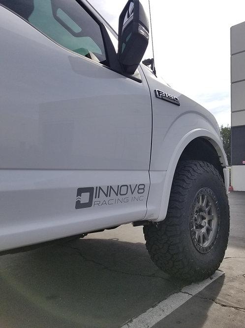 "INNOV8 RACING ROCKER PANEL STICKER 3.6"" x 18"""